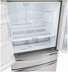 lg bottom freezer french door refrigerator lg stainless 4 door french door refrigerator lmxs30776s