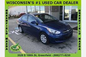 hyundai accent s used hyundai accent for sale in milwaukee wi edmunds