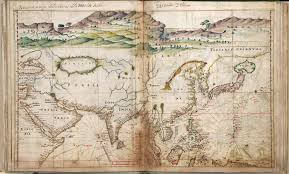 Map If Asia by Portuguese Map Of Asia 1630 Vivid Maps