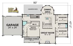 log home floor plans with garage golden eagle log and timber homes floor plan details log ranch