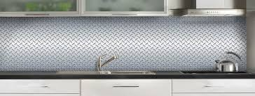 plaque aluminium pour cuisine crédence de cuisine tôle grain de riz c macredence com