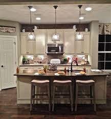 Zinc Kitchen Island - rustic pendant lighting kitchen design island table fixtures over