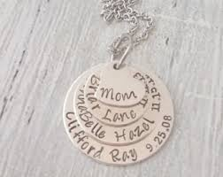Grandparent Jewelry Gifts Personalized Grandma Gifts