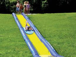 world u0027s longest backyard water slide creates the wave of the future