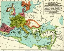 Geographical Map Of Europe by Historical Maps Overview