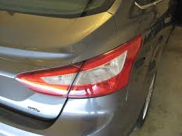 ford focus tail light bulb focus tail light bulbs replacement guide 001