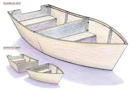 build a wooden boat diy mother earth news