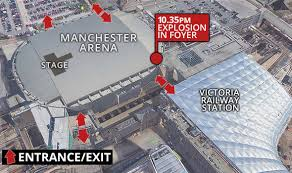 The Manchester Foyer Manchester Terror Attack 22 Killed In Bombing At Ariana