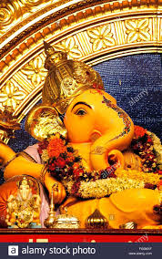idol of lord ganesh elephant headed god magnificent decoration for