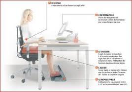 bonne position au bureau quelle position adopter à bureau conseils d ergonomie au travail