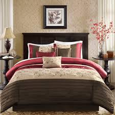 Bed Sets Amazon Com Madison Park Mp10 307 Serene Comforter Set Queen Brick