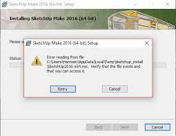 can u0027t install sketchup make or pro sketchup sketchup community