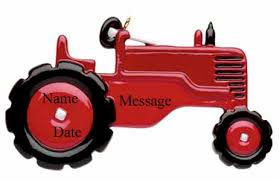 buy tractor ornament personalized ornament from a