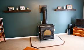 installing a free standing wood stove from acacia to zelkova
