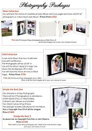 Wedding Album Prices Wedding Prices And Packages Wedding Photography Leicestershire