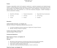 sle resume for internship in electrical engineering breathtakinghip resume exles sle for with no experience pdf