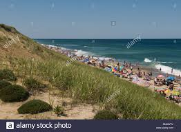 marconi beach wellfleet cape cod massachusetts usa stock photo