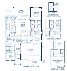 bayshore ii a new home floor plan at connerton inspiration 75 u0027s