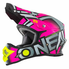 oneal motocross gloves o neal 3 series radium 2017 pink motocross helmet