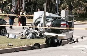 pasadena now updated horrific crash sends five to hospital