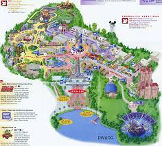Map Of Walt Disney World by South Palms Villa Orlando Walt Disney World