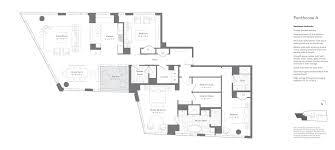 penthouse floor plans spacious u0026 luxury fenway condos pierce boston
