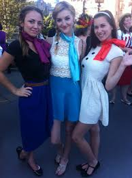 Disney Halloween Party Costume Ideas by Disney Bound Anna Elsa And Olaf Disneybounders In Action