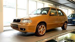 prague car the skoda felicia golden prague is pure gold petrolblog