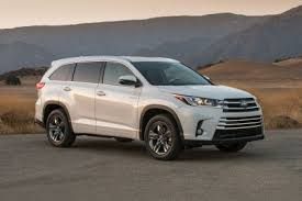 toyota new suv car toyota highlander hybrid review research new used toyota