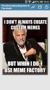 Custom Meme App - meme factory meme generator free android app market