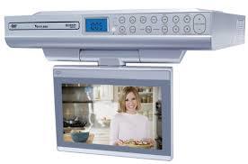 Tv Under Kitchen Cabinet Under Cabinet Television For Kitchen Voluptuo Us