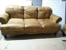 Distressed Chesterfield Sofa Distressed Leather Sofa Sofas Suites Ebay