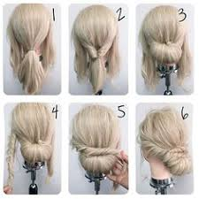 different hair buns top 10 updo tutorials for different hair lengths