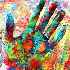 kaleidoscope hands living in color rosemary pierce modern art