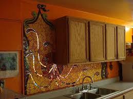 Stained Glass Backsplash by 161 Best Kitchen Ideas Images On Pinterest Mosaic Backsplash
