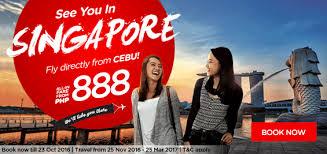 airasia singapore promo airasia seat sale fly to singapore for p888 all in piso promo fares