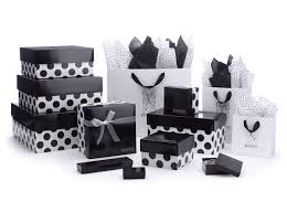 polka dot gift boxes premier line dots apparel boxes packaging specialties