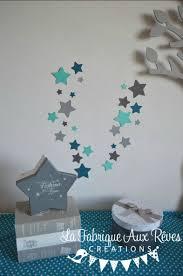 stickers étoile chambre bébé lot stickers étoiles turquoise caraïbe bleu pétrole bleu canard gris
