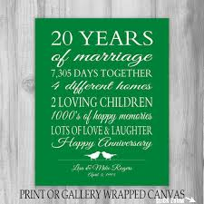 20 year wedding anniversary ideas twenty years what will become of by then to