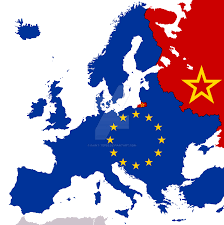 European Union Blank Map by New Cold War Map By Saint Tepes On Deviantart