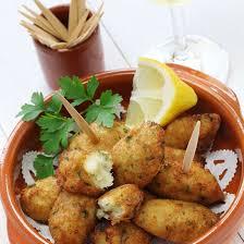 cuisine portugaise morue recette croquettes de morue à la portugaise facile rapide