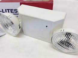 sure lites emergency lights cooper lighting cc2 sure lites exit emergency lighting ebay