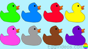 learn colors ducks coloring page for kids u0026 children educational