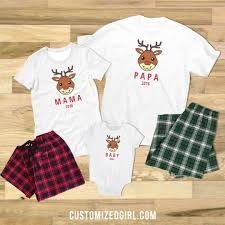 matching pajamas for the whole family customizedgirl