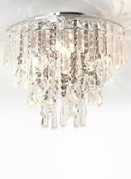 Bhs Crystal Chandeliers Smoke Gabriella Flush Light Smoke And Clear Flush Mount Crystal