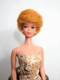 how to cut a bubble cut hair style barbie doll bubble cut 1962 model 850 golden blonde