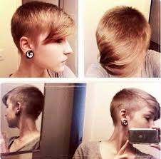 women hairstyles 2015 shorter or sides and longer in back best 25 shaved pixie ideas on pinterest pixie with undercut