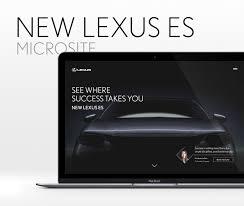 lexus singapore leng kee lexus es microsite on behance