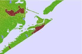galveston island map galveston location guide