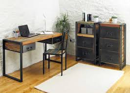 Shabby Chic Computer Desks Shabby Chic Computer Desk With Metal Frame Home Design